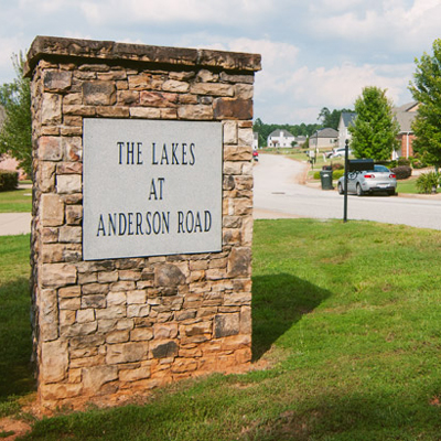 Lakes at Anderson Road