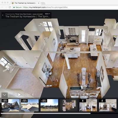 Matterport 3D Virtual Tour technology continues to be a real differentiator for Sellers and Buyers