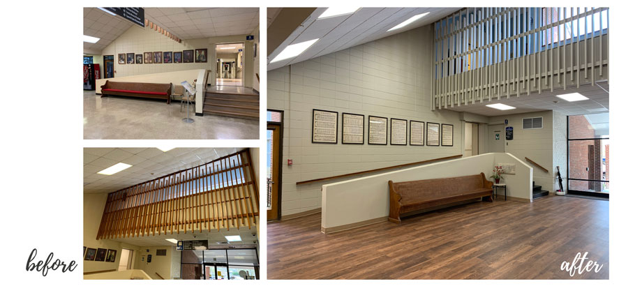 lifeSTYLED Three Sixty inspired interiors Hamill Court at AUMC