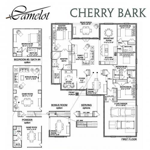 Cherry Bark FP